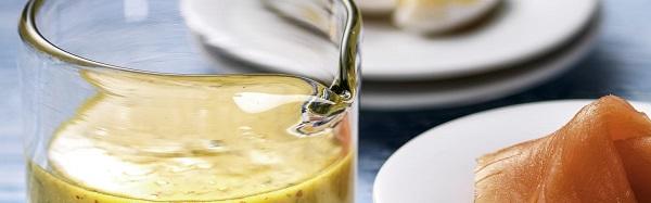 Горчично-укропный соус родом из Швеции