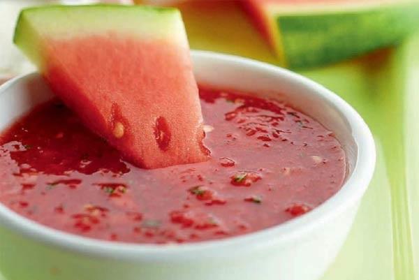Холодный арбузный суп