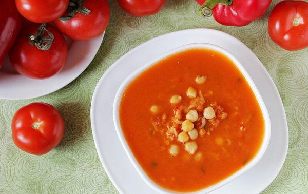 Пряный бобовый суп
