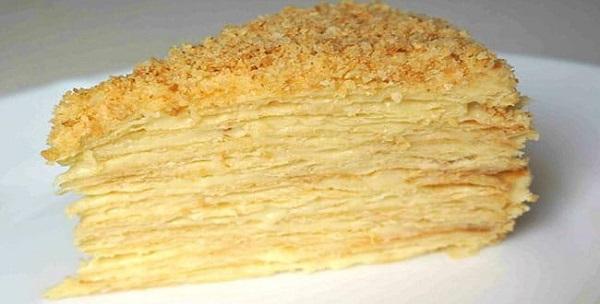 Торт Наполеон в мультиварке — рецепт приготовления коржей и крема с нуля