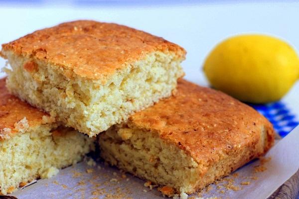 Лимонный бисквит с медом в мультиварке