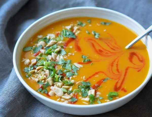 Пряный тыквенный суп в мультиварке