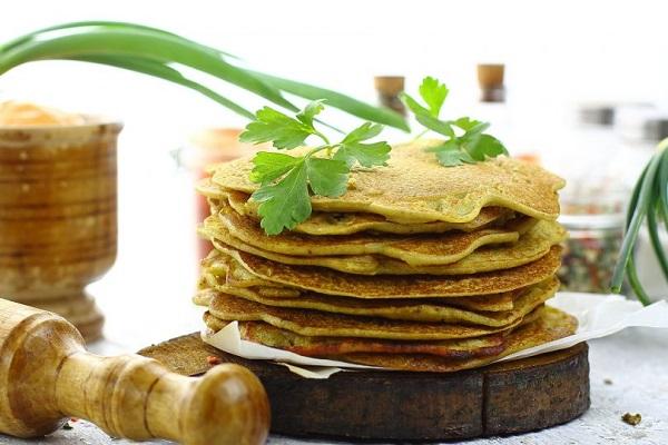 Гороховые блины — рецепт на сковороде
