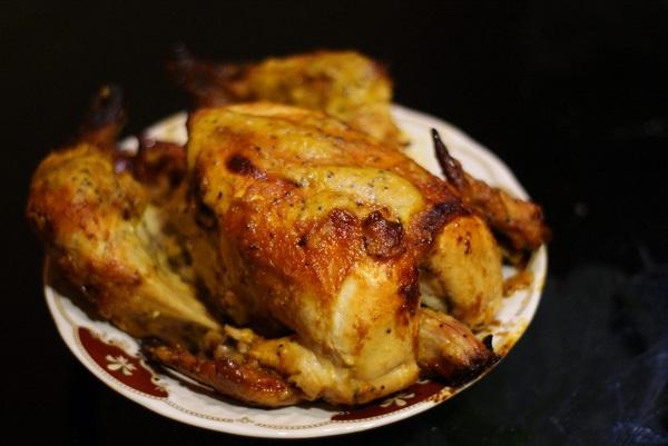 Курица запечённая целиком
