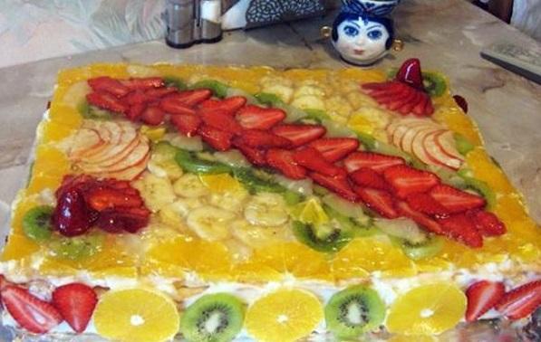 Торт «Тропиканка»