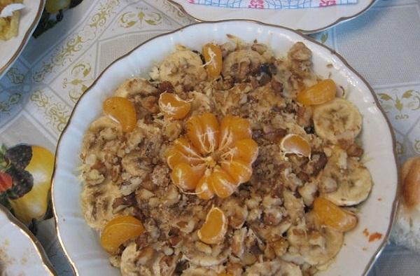 Вкусный салат с курицей «Вечерний блюз»