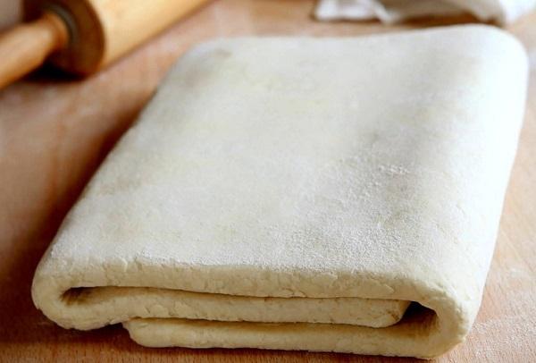 Домашнее слоеное тесто. Пирог из слоеного теста