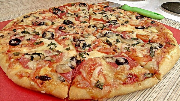 Как приготовить пиццу в дома